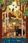 Forest Animals - Geometric - Lantern Press Artwork