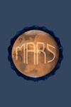 Mars - Watercolor - Contour - Lantern Press Artwork