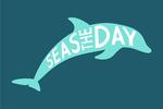 Seas The Day - Simply Said - Contour - Lantern Press Artwork