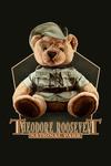 Theodore Roosevelt NP, North Dakota - Teddy Bear - Contour - Lantern Press Artwork