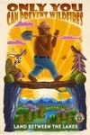 Land Between the Lakes, Kentucky - Smokey Bear & Friends - Mid-Century Inspired - Lantern Press Artwork