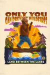 Land Between the Lakes, Kentucky - Smokey Bear & Friends - Mid-Century Inspired - Contour - Lantern Press Artwork