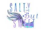 Salty but Sweet  - Mermaid Tale - Contour - Lantern Press Artwork