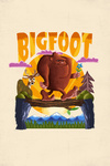 Bigfoot - Mid-Century Inspired - Contour - Lantern Press Artwork