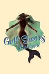 Gulf Shores, Alabama - Mermaid Underwater - Contour - Lantern Press Artwork