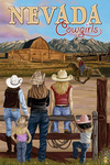 Nevada - Cowgirls - Lantern Press Artwork
