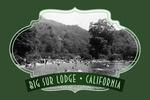 Big Sur, California - Big Sur Lodge and Swimming Pool - Contour - Vintage Photography