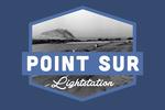 Big Sur, California - Point Sur Light Station - Contour - Vintage Photography