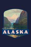 Alaska - This is Alaska - Contour - Vintage Artwork