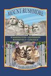 Mount Rushmore National Memorial, South Dakota - Contour - Lantern Press Artwork