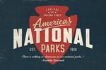 Indiana Dunes National Park, Indiana - America's National Parks - Red Arrowhead - Lantern Press Artwork
