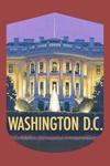 Washington, DC - White House - Contour - Lantern Press Artwork