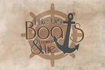 I Like Big Boats & I Cannot Lie - Quote - Contour - Lantern Press Artwork