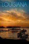 Louisiana - Cross Lake Sunset - Photography