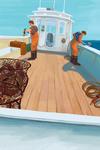 Dungeness Crab Boat - Lantern Press Artwork
